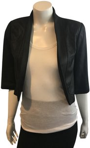 VEDA Swing Light Weight black Leather Jacket