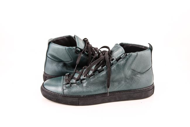Item - * Green Arena Stingray High Top Sneakers Shoes