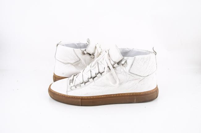 Item - * White Arena High Top Sneakers Shoes