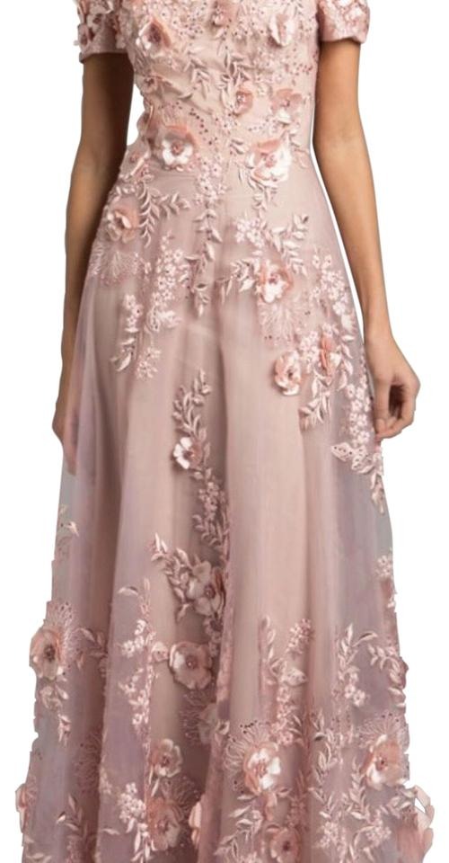 Saks Fifth Avenue Pink Andrea and Leo Long Formal Dress Size 6 (S ...