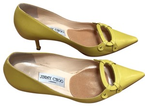 Jimmy Choo Lime Pumps