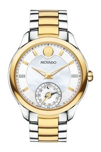 Movado MOVADO Bellina Motion Silver Metallic White Mother Of Pearl Dial