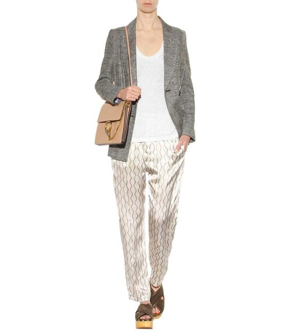 Item - Brown Gold Beige 38(4) Made In Portugal Sonia Print Pants Size 4 (S, 27)