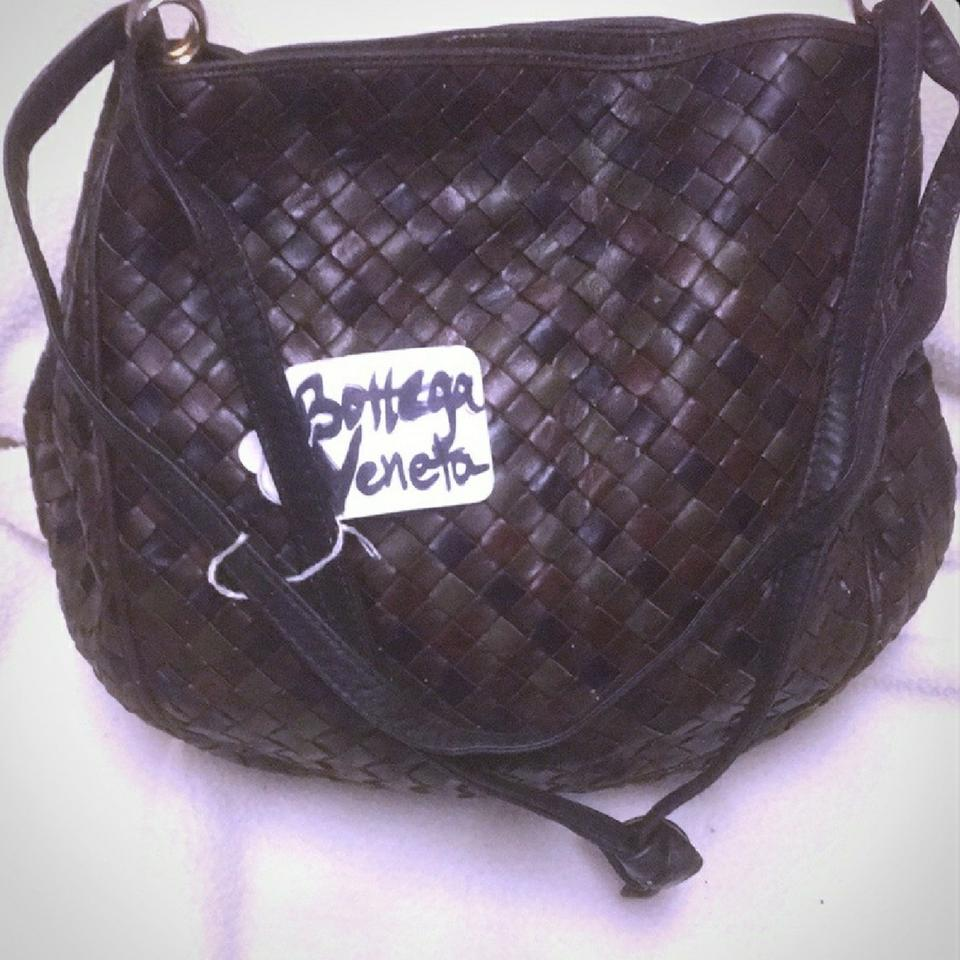 Bottega Veneta Brown Woven Handbag Made In Italy Cross Body Bag ... 513ce71942f8f