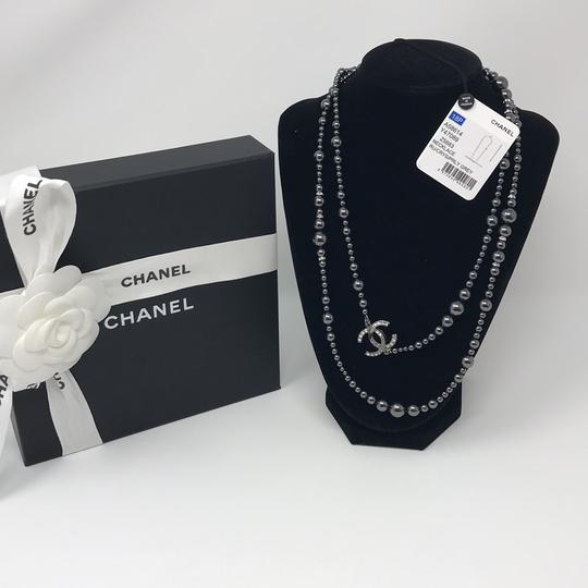 Chanel Chanel Crystal pearl Necklace