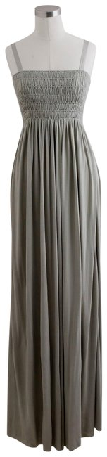 Item - Stone Shirred Long Casual Maxi Dress Size 2 (XS)