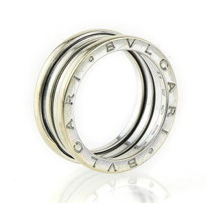 BVLGARI BLVGARI ZERO 1 White GOLD RING