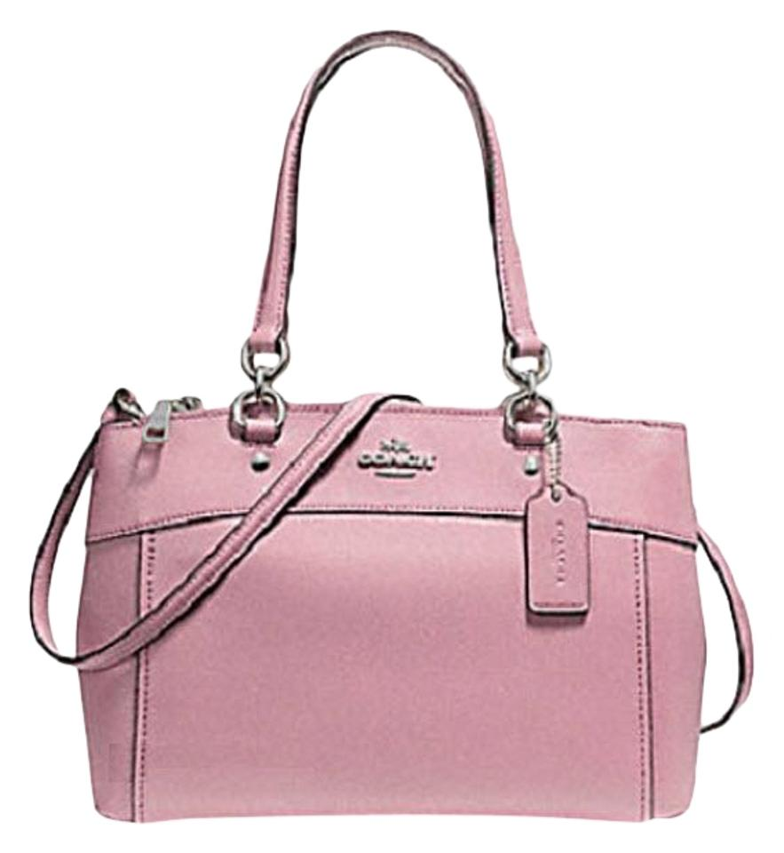 cd774492c9d7 ... promo code for coach carryall 34797 36704 christie satchel in pink  6b592 2bfc3