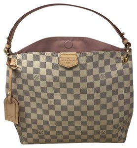 Louis Vuitton Gracefull Damier Azur Gracefull Pm Delightful Shoulder Bag