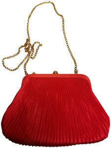 Other Wristlet in Red Orange