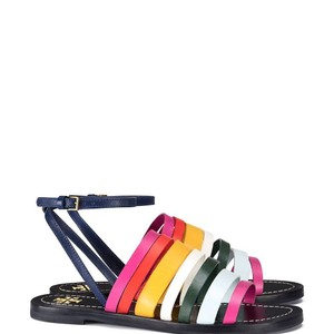 Tory Burch Navy/Multi color Sandals