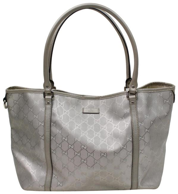 Item - Imprime 866450 Silver Patent Leather Tote