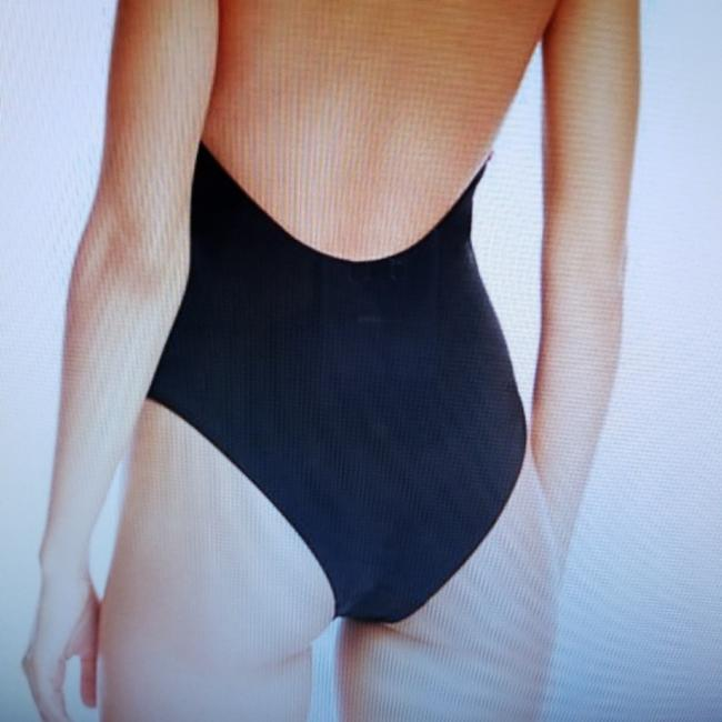 Red Carter NWT Black Splice Plunge Lace Up One Piece Swimsuit S Image 1