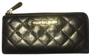 Michael Kors quilted zippered