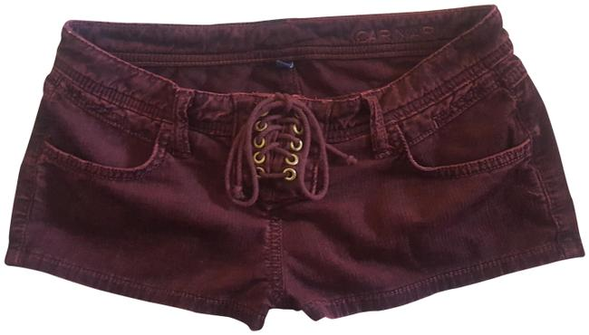 Preload https://img-static.tradesy.com/item/23179097/carmar-wine-maroon-burgundy-lf-lace-up-shorts-size-0-xs-25-0-1-650-650.jpg