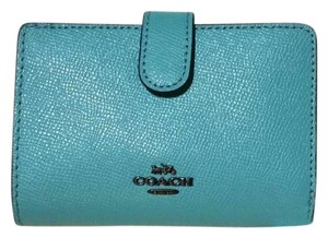 41e76408d6130 Blue Coach Wallets - Up to 70% off at Tradesy