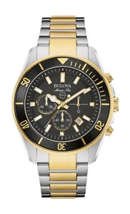 Bulova Bulova Men's 98B249 Quartz Chronograph Two-Tone Bracelet 43mm Watch