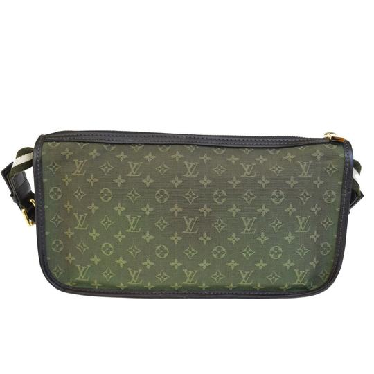 Louis Vuitton Made In France Green Clutch Image 2