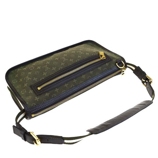 Louis Vuitton Made In France Green Clutch Image 4