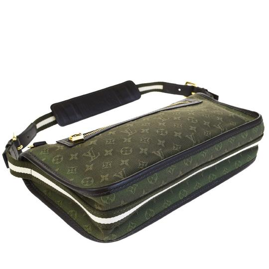 Louis Vuitton Made In France Green Clutch Image 5