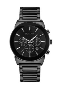 Bulova Bulova Men's 98B215 Quartz Chronograph Black Bracelet 40mm Watch