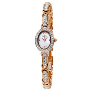 Bulova Bulova Women's 98L200 Crystal Collection Rose Gold Watch