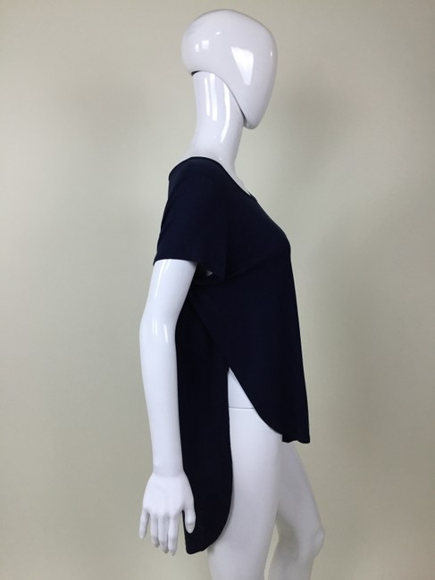 Other T Sleeve High Low T Shirt Blue