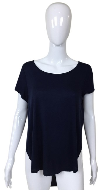 Other High Low Sleeve T Shirt Blue