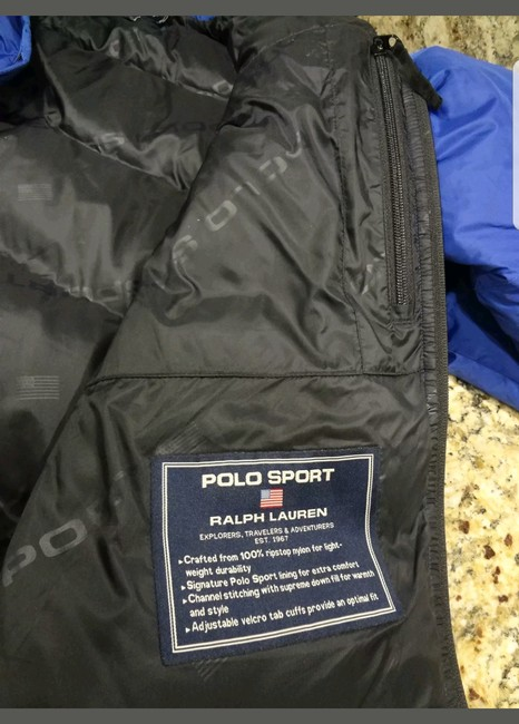 Polo Sport Down Puffer Coat Image 4