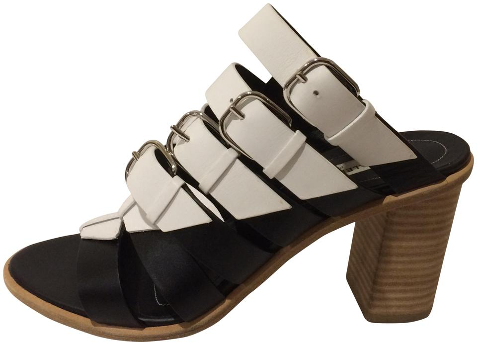 Balenciaga Buckle New Buckle Balenciaga Straps Slingback Leather Sandals e94545