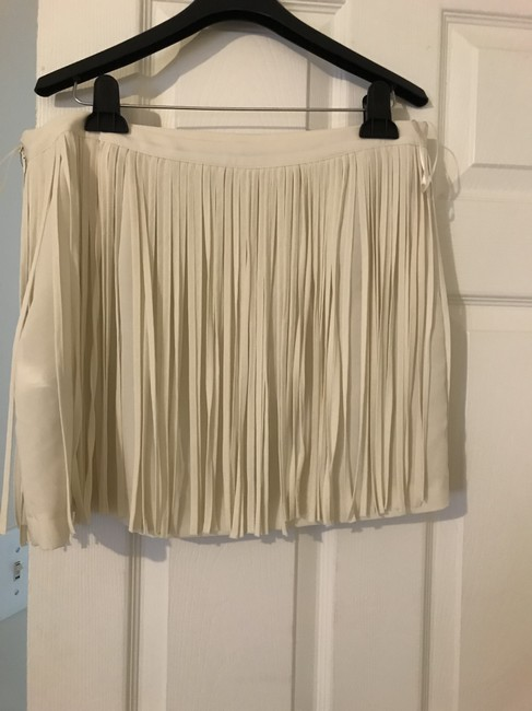 Zara Skirt Off White Image 2