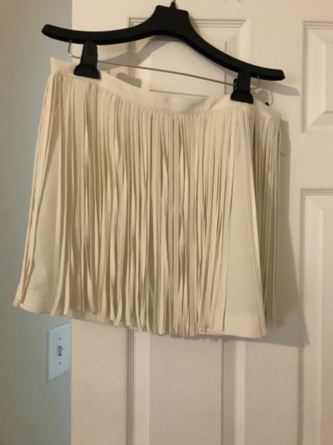 Zara Skirt Off White Image 3