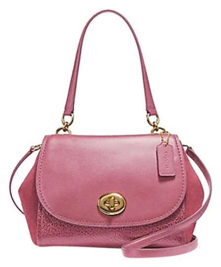 Preload https://img-static.tradesy.com/item/23180012/coach-faye-carryall-f22348-pink-leather-satchel-0-1-540-540.jpg