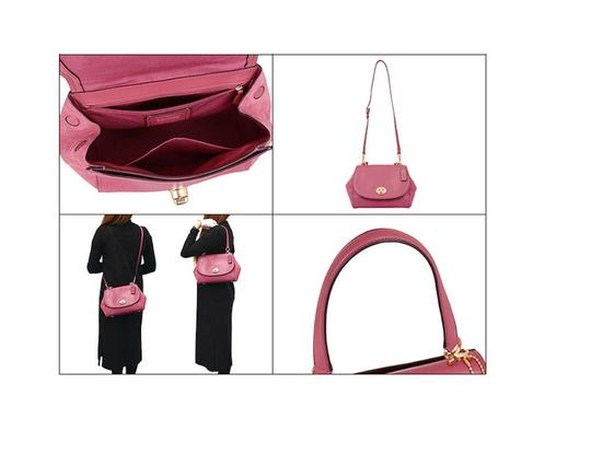Coach Satchel in pink Image 5