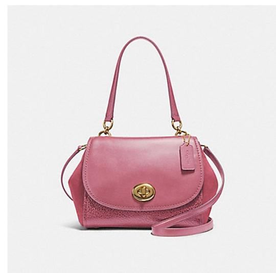 Coach Satchel in pink Image 7