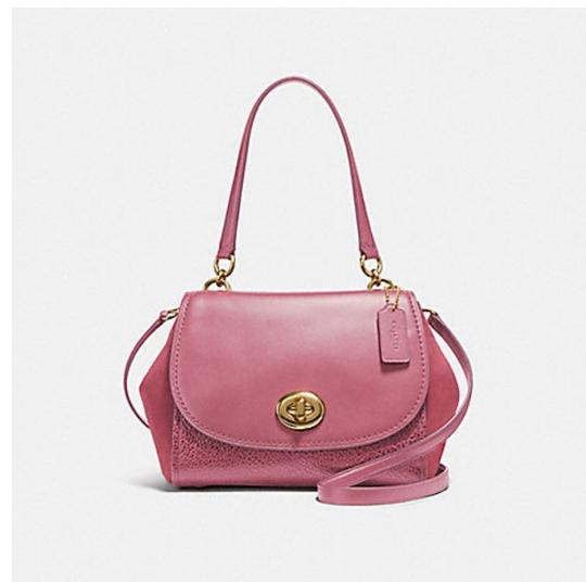 Coach Satchel in pink Image 8
