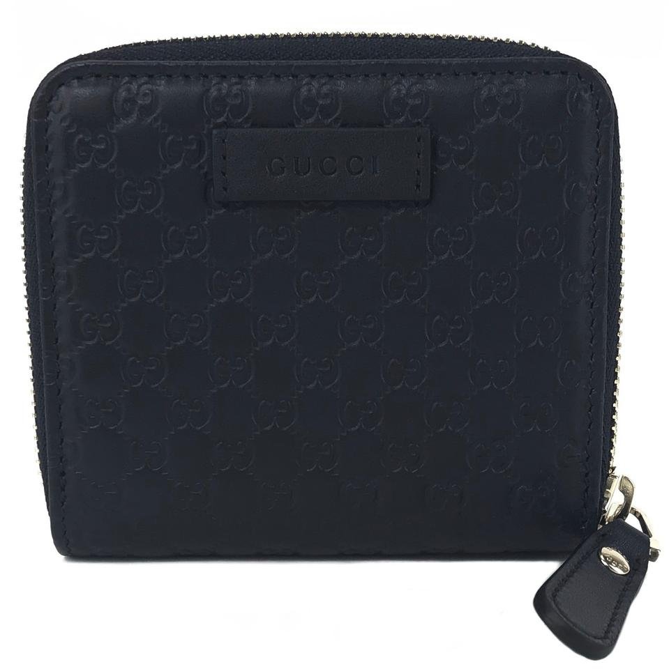 c6ea424c3119 ... gucci blue new 449395 microguccissima midnight wallet tradesy ...
