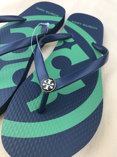 Tory Burch Navy Sandals Image 5
