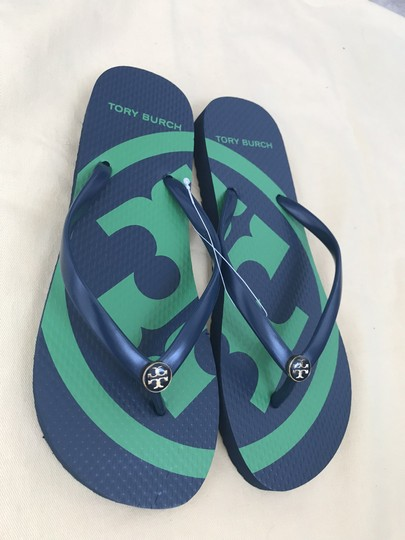 Tory Burch Navy Sandals Image 6
