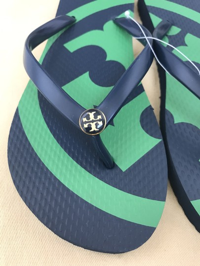 Tory Burch Navy Sandals Image 7