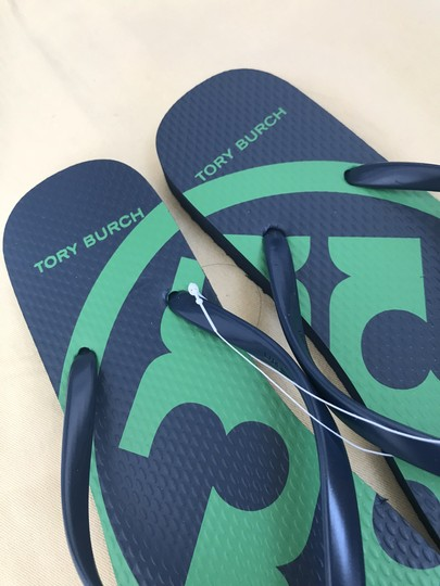 Tory Burch Navy Sandals Image 8