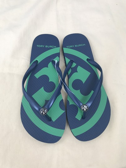 Tory Burch Navy Sandals Image 9