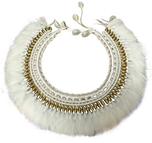 Unknown Tribal Feather Necklace