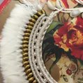 Unknown Tribal Feather Necklace Image 3