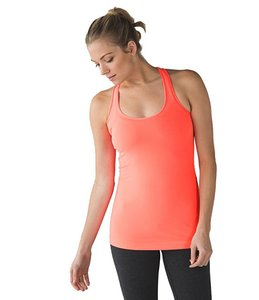 Lululemon Lululemon Orange Power Y Tank Top- New Without Tags