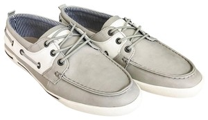 Unlisted by Kenneth Cole Anchor Shot Boat Men's 8m Grey White Athletic