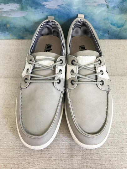Unlisted by Kenneth Cole Anchor Shot Boat Men's 8m Grey White Athletic Image 2
