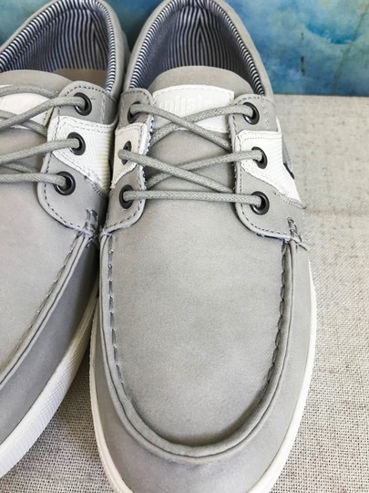 Unlisted by Kenneth Cole Anchor Shot Boat Men's 8m Grey White Athletic Image 7