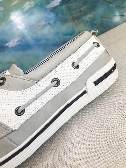 Unlisted by Kenneth Cole Anchor Shot Boat Men's 8m Grey White Athletic Image 9