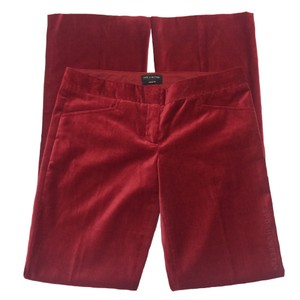 The Limited Boot Cut Pants Red